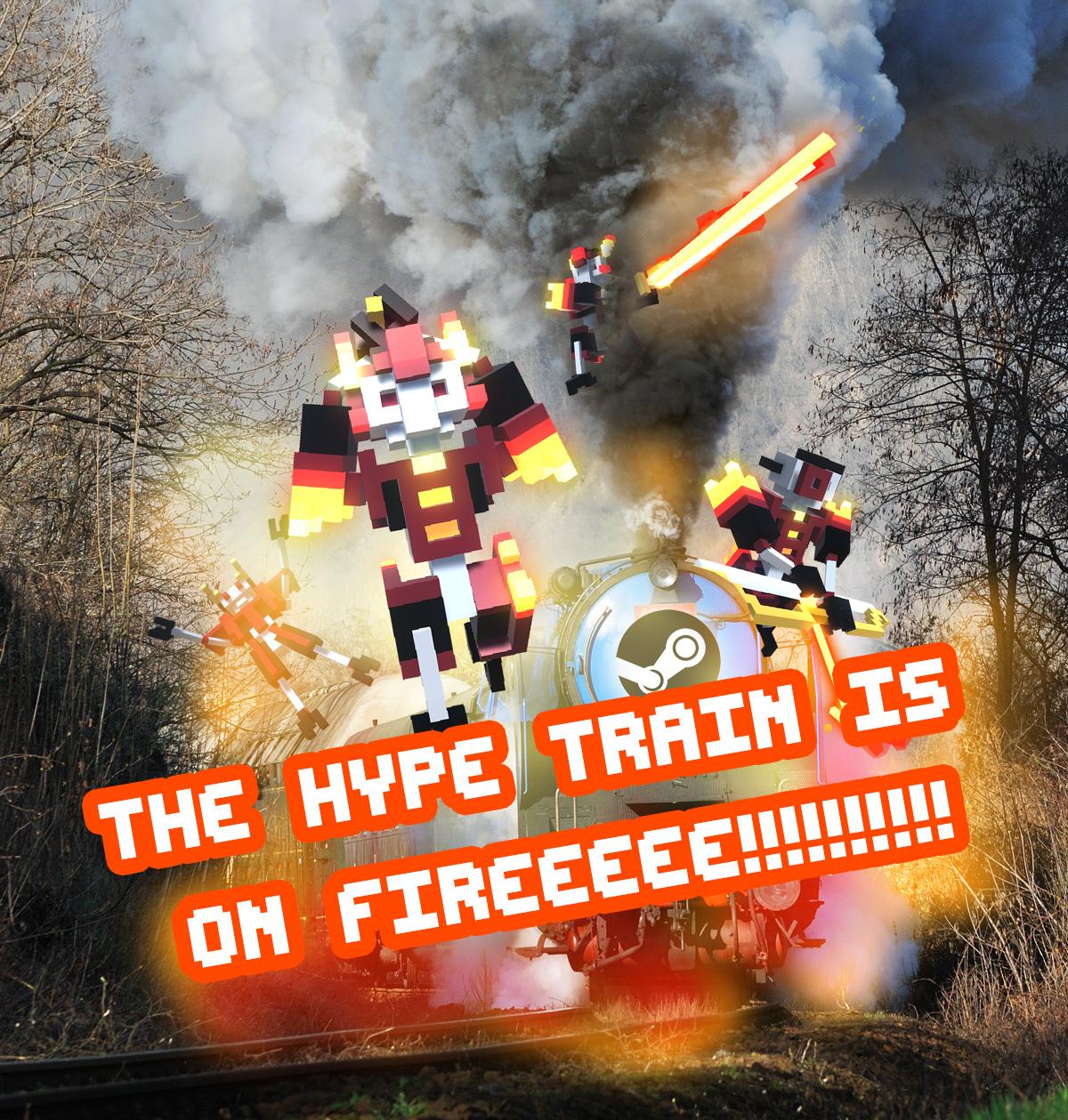 hypetrainonfire