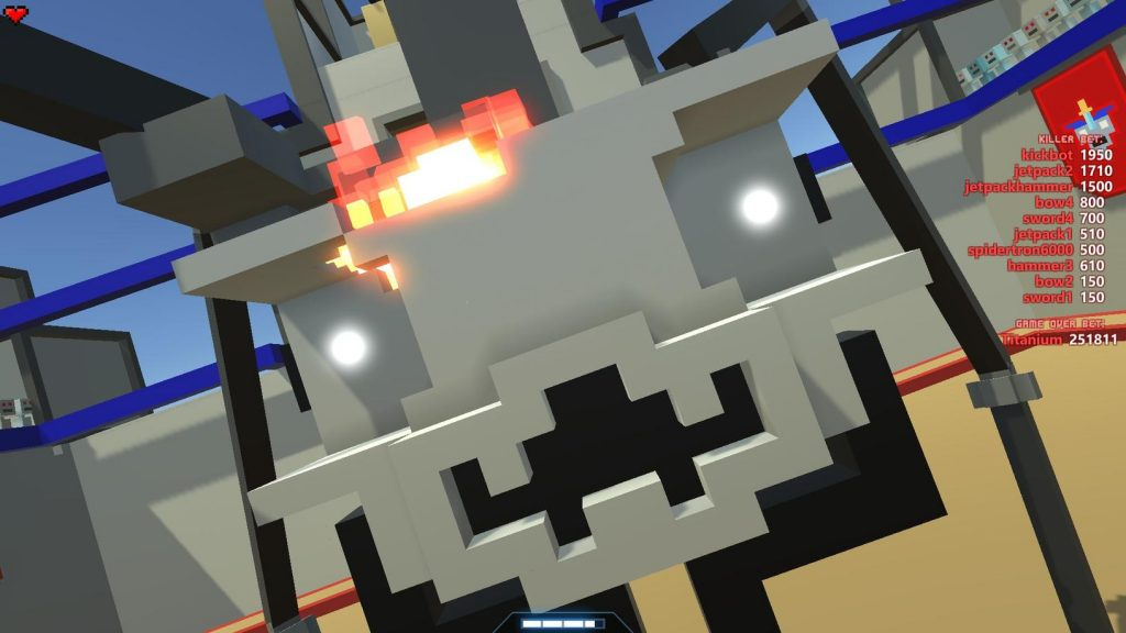Spidertron with No Eyes
